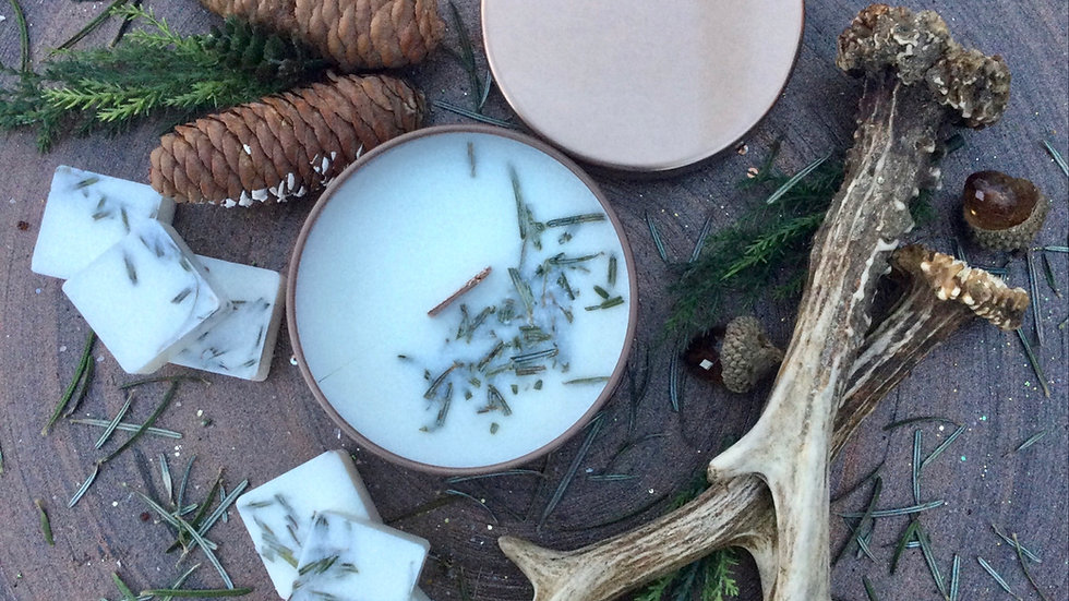 Enchanted Forest - Eco Tin Candle