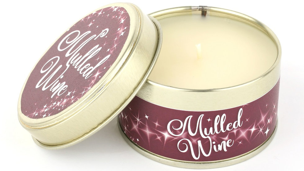 Mulled Wine Candle - Scents of Christmas By Pintail Candles