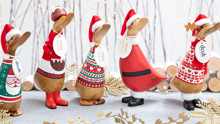 DCUK - Cosy Christmas Ducklings - Choose Deisgn