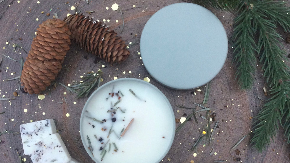 Christmas Tree - Eco Tin Candle