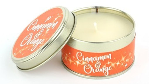 Cinnamon & Orange Candle - Scents of Christmas By Pintail Candles