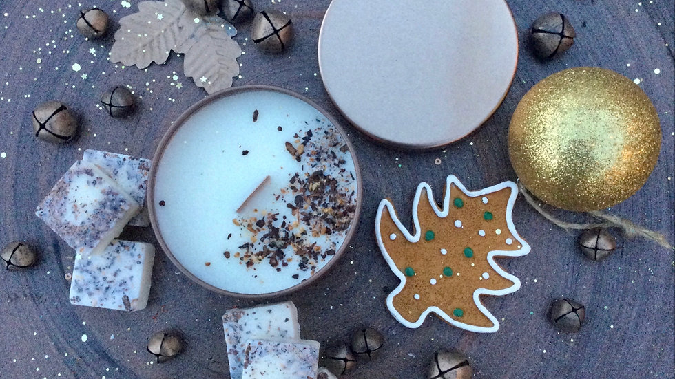 Gingerbread House - Eco Tin Candle
