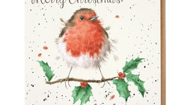 'A Lovely Mum' Wrendale Christmas Card