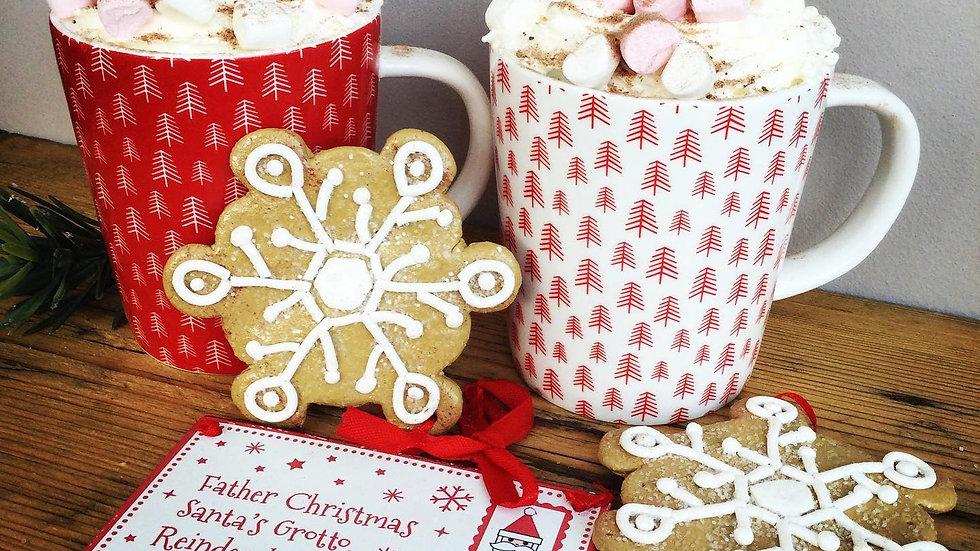 Nordic Christmas Mugs - Pair
