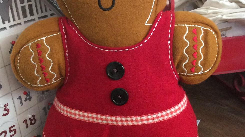 Gingerbread Girl! Cushion - Dolly