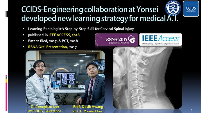 CCIDS-Engineering collaboration at Yonse