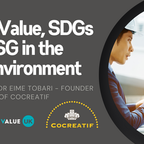 Social value, ESG and SDGs in the built environment