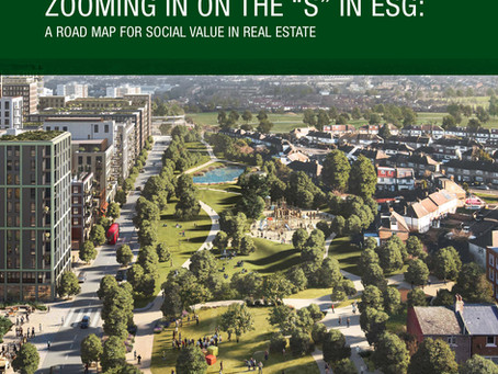 """""""A road map for social value in real estate"""" launched today"""