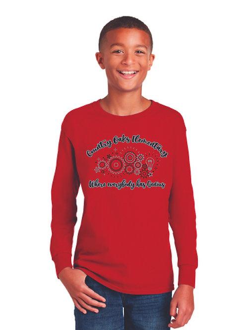 Red Long Sleeve Shirt COE
