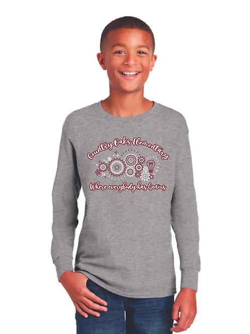 Gray Long Sleeve Shirt COE