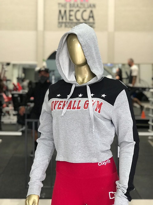 Moletom Overall Feminino - Mescla