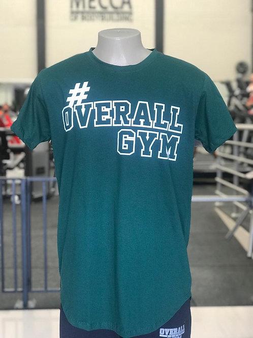 Camiseta #OverallGym - Verde