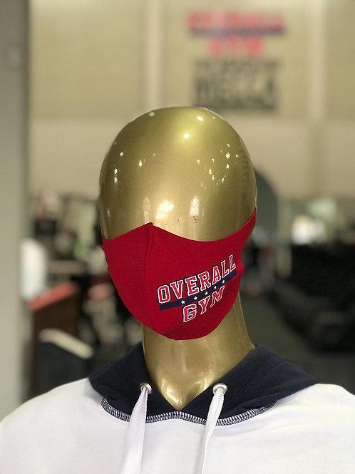 Máscara Overall - Vermelha