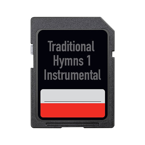 Traditional Hymns 1 – Instrumental (SD Card Only)