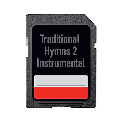 Traditional Hymns 2 – Instrumental (SD Card Only)