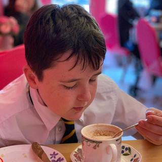 After school #hotchocolate 🍫 ☕️ #shawla