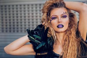 make up, photoshoot, model