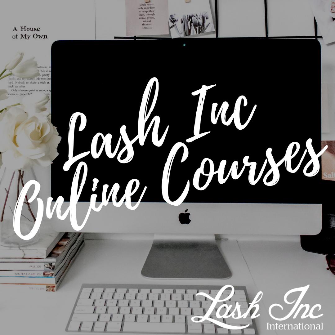 Lash Inc Online Courses
