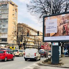 Дизайн на билборд за Bioloqigue recherche
