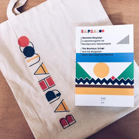 "Bag Design and Book Design for ""100 Years of BAUHAUS"""