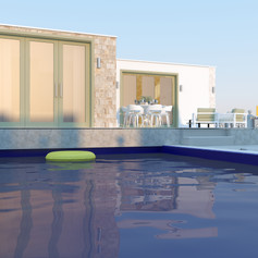 Интериорен дизайн за луксозни вили в Гърция