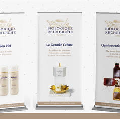 Дизайн за банери на Biologique recherche