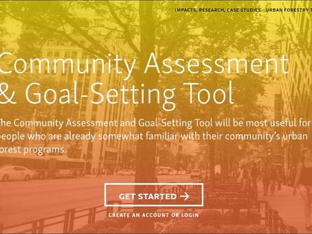 Test Drive of Vibrant Cities Lab: Community Needs Assessment Tool for Urban Forestry