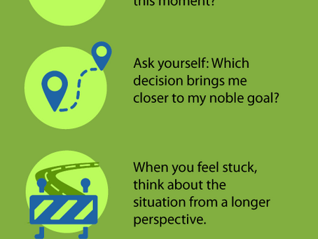 Infographic: 6 Tips for Living A Purpose Driven Life
