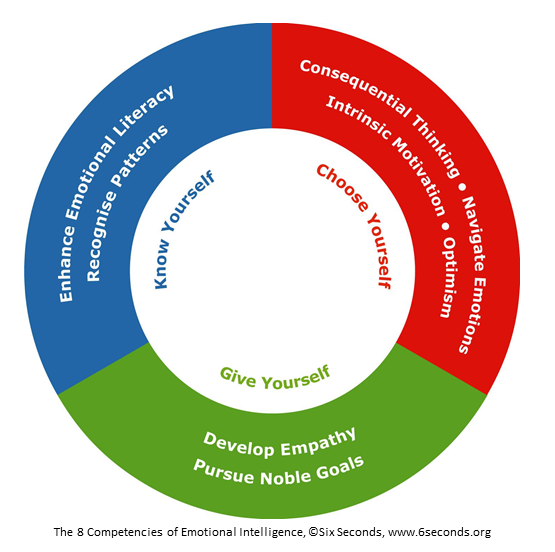 The 8 Competencies of Emotional Intelligence, ©Six Seconds, www.6seconds.org
