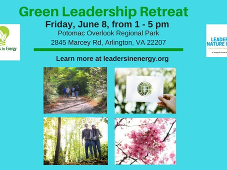 Registration Now Open: June 8 Green Leadership Retreat
