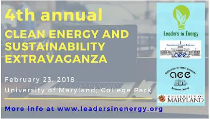 CleanTech Innovation and Entrepreneurship on Feb 23 at UMD College Park