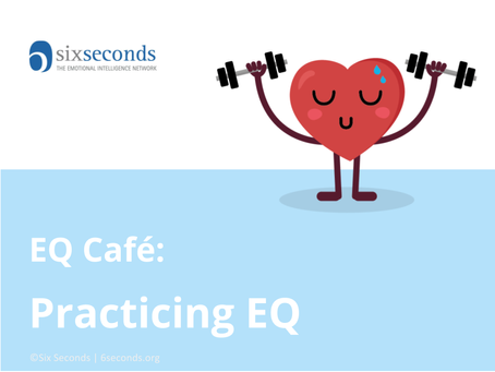 Fri March 2, Free EQ Workshop in Arlington, VA: What is EQ and what would it mean to practice emotio