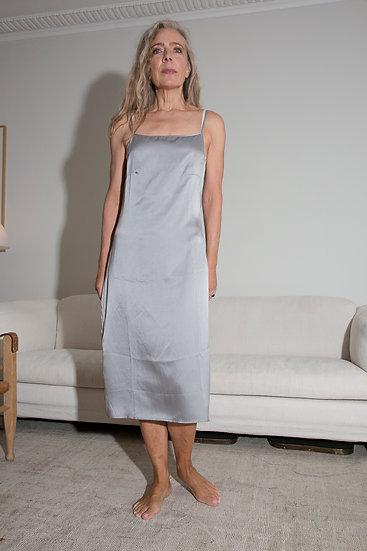 Aylin silk slip dress