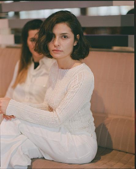 Ayla blouse (cream)