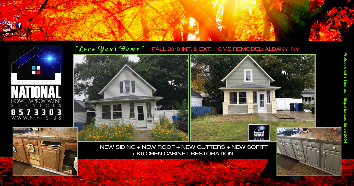 NHIS INT & EXT HOME REMODEL - ALBANY, NY