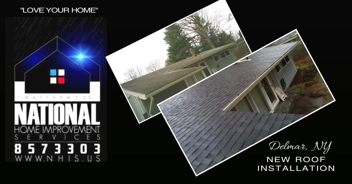 NHIS New Roof Installation - Delmar, NY.