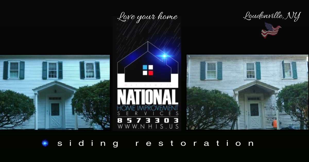 NHIS Siding Restoration - Loudonville, N