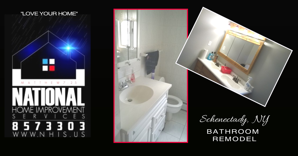 NHIS Bathroom Remodel - Schenectady, NY.