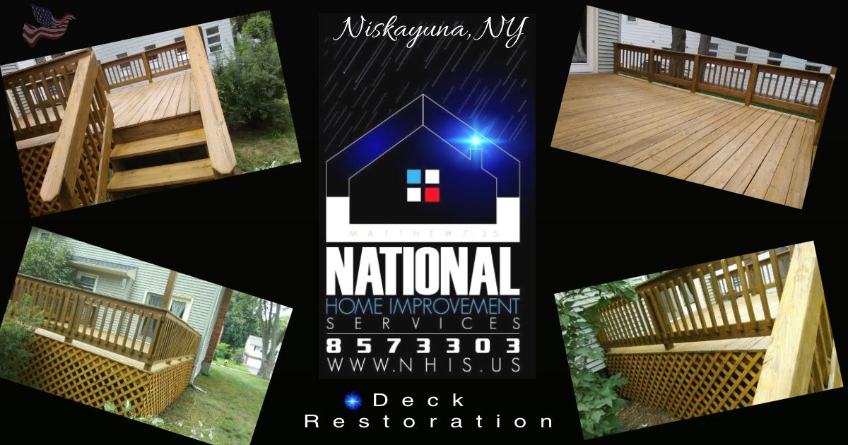 NHIS Deck Restoration - Niskayuna, NY