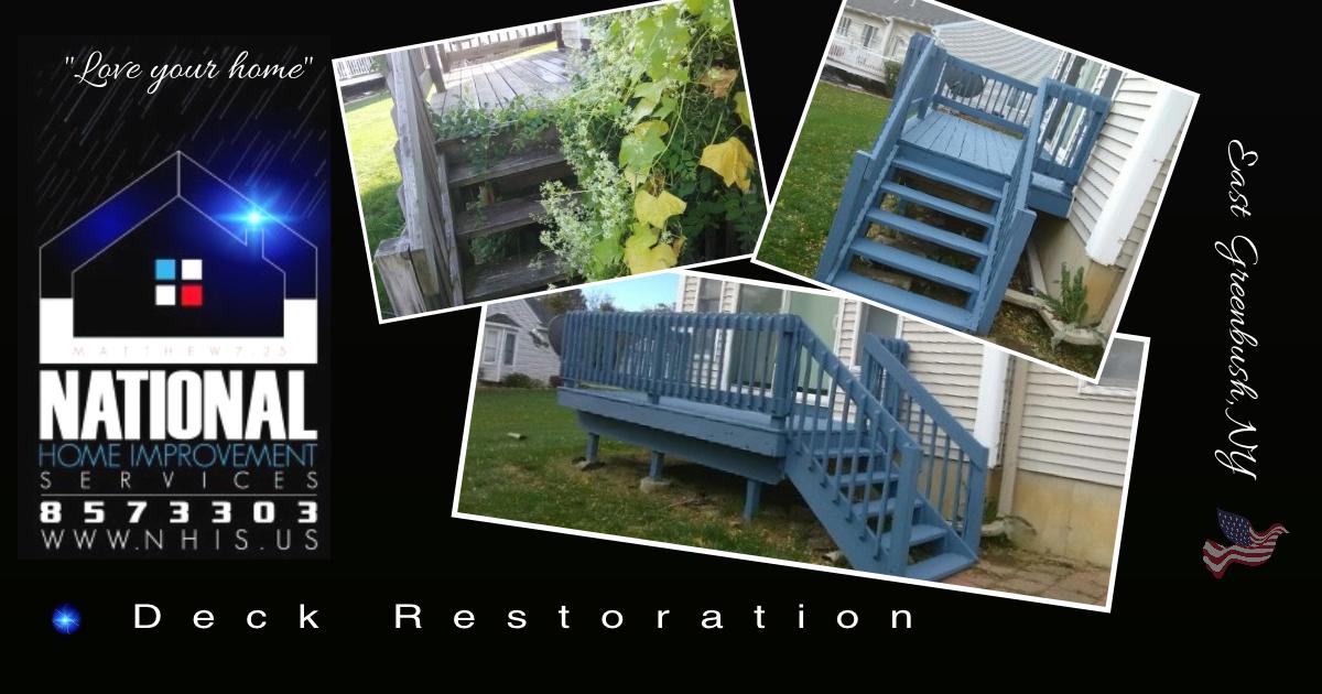 NHIS Deck Restoration - East Greenbush,