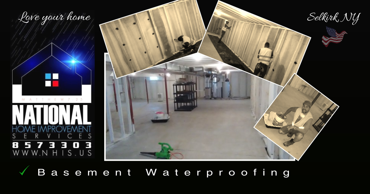 NHIS Basement Restoration - Selkirk, NY.