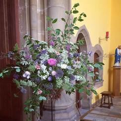 Flowers for Worksop College, fund-raising for MDUK