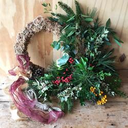wreath kit contents