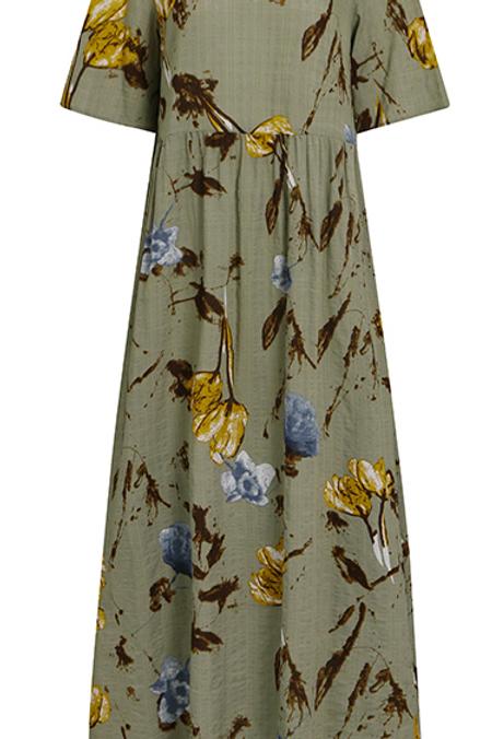 Summer Dress Short Sleeve