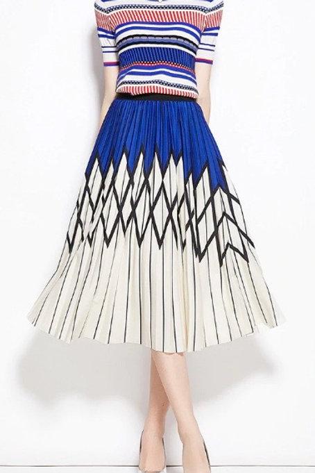 Set Skirt-Pullover