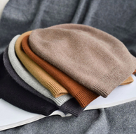 6 colors unsex Autumn winter real cashmere beanies.  39.00€