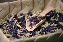 Blue Pea Tea from basket