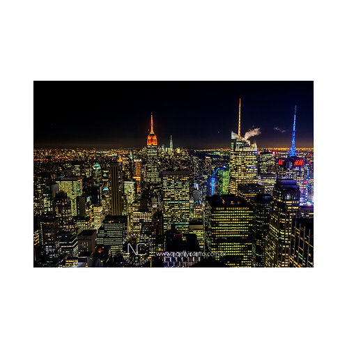 Top of the Rock, Rockefeller Center, Manhattan, New York City, USA