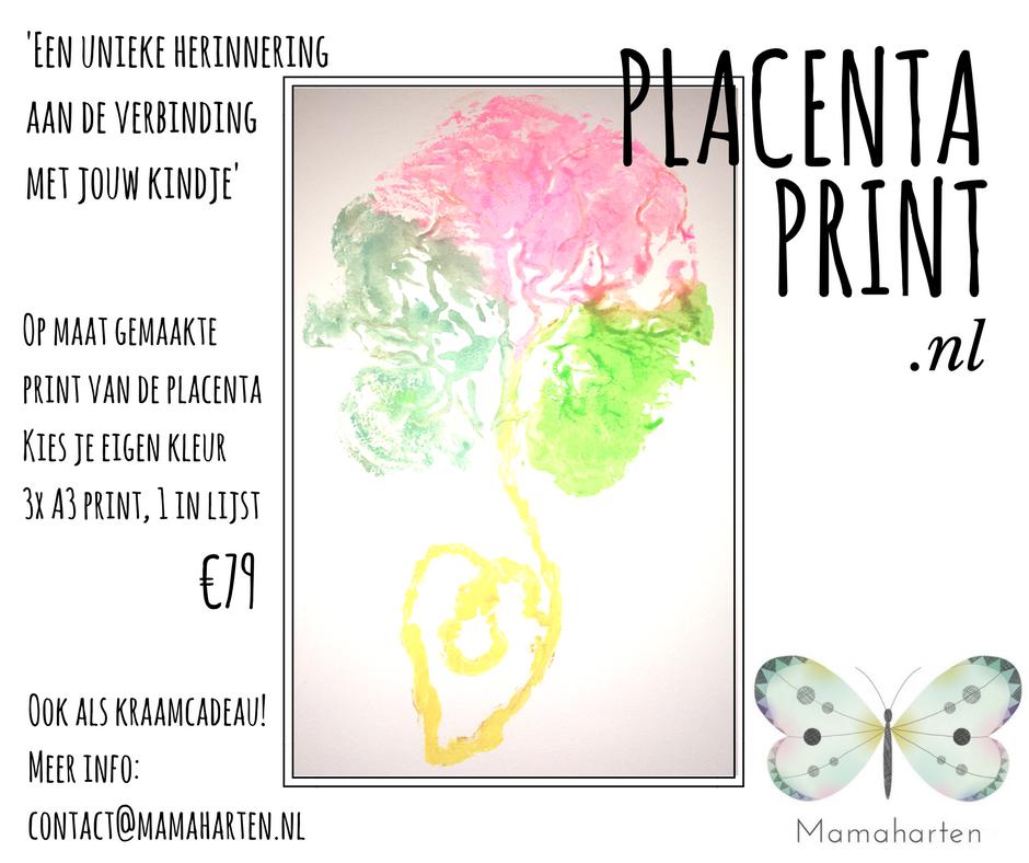 #placentaprint #mamaharten #placentaprintnl