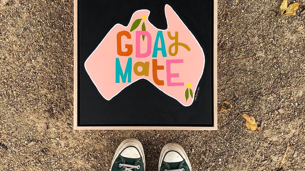 'G'day Mate' Original Painting